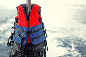 life jackets outdoor