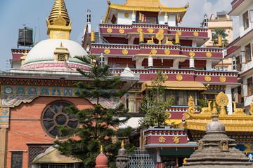 Kathmandu , Nepal : Buddhist temple in Kathmandu, Nepal.