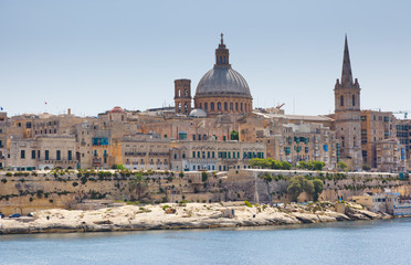 Fototapete - Stunning image of the Basilica Our Lady of Mount Carmel.