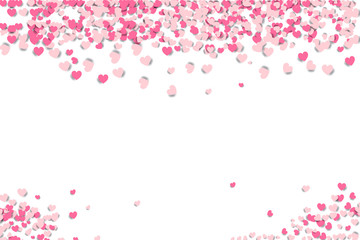 Heart shape glitter background for valentine's day, mother's day, and wedding day - Valentine Heart - Valentine Background