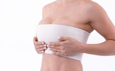 bandage breast enlargement