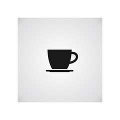 Cup of coffee. Coffee cup icon. Coffee icon isolated on white background