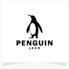 Penguin Logo Design Template
