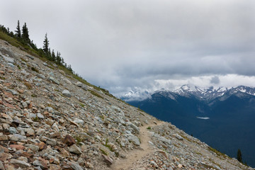 High note trail, Whistler, Canada I