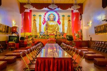 Mahayana Buddhist Temple, Chinatown, New York City, United States