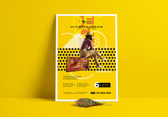 Yellow Creative Multipurpose Flyer Design