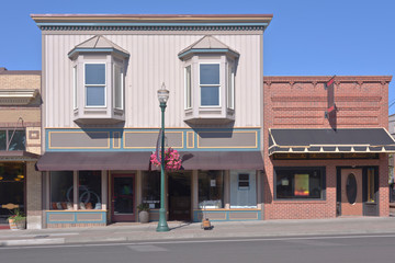 Store front businesses in Walla Walla WA.