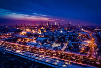 Zimowa Warszawa