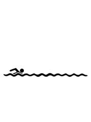 linie bahn schwimmen wasser meer urlaub ferien wellen cool design piktogramm baden schwimmbad sport spaß tauchen hallenbad clipart schwimmer