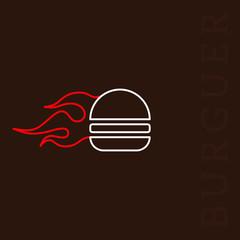 Flame Burguer
