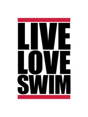 balken live love swim schwimmen liebe symbol urlaub meer ferien wasser wellen cool logo design piktogramm baden schwimmbad sport spaß tauchen hallenbad clipart schwimmer