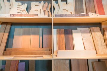 Holz-Rohlinge zum Bau von Musikinstrumenten