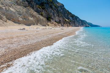 White Egremni beach, Lefkada, Greece