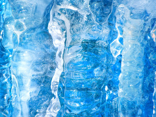 Colorful ice texture.