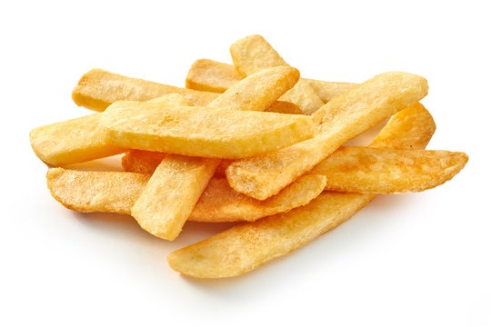 Pile of fast food chips