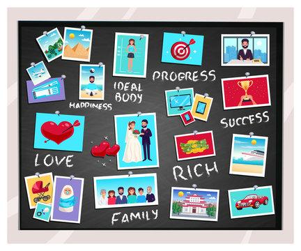 Dreams Vision Chalkboard