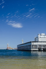 LNG TERMINAL - Infrastructure of the wharf in Swinoujscie for the gas tanker
