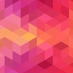 Hexagon mesh vector background. Geometric design stylized polygons. Trendy pattern of hexagonal colors for banner or cover. Honeycombs form a mosaic background. - Vektorgrafik