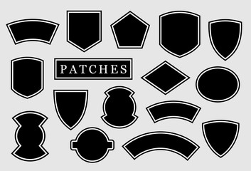 Military patch, biker patch Wall mural