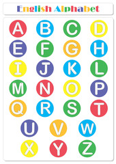 Alphabet tracing worksheet: writing A-Z and educational game for kids
