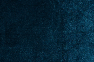 Blue velvet background, texture. Blue, cloth, abstract fabric.
