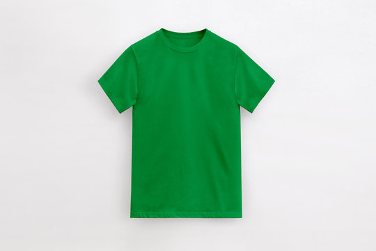 Un-branded Royal kelly green t-shirt man