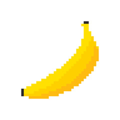 Pixel Graphic Banana.