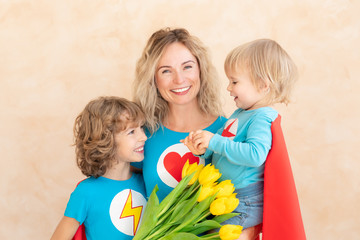 Mother's day spring holiday concept
