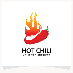 Hot Chili Logo Design Template Inspiration