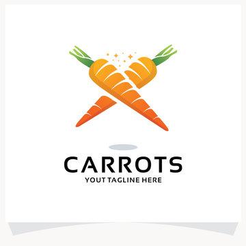 Carrots Logo Design Template Inspiration