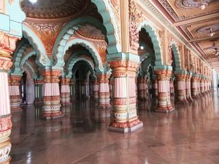 Amba Vilas Palast in Mysore / Südindien