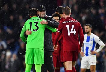 Premier League - Brighton & Hove Albion v Liverpool