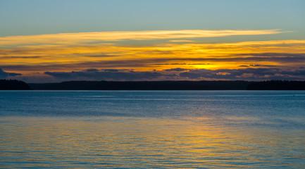 Simple Northwest Sunset 5