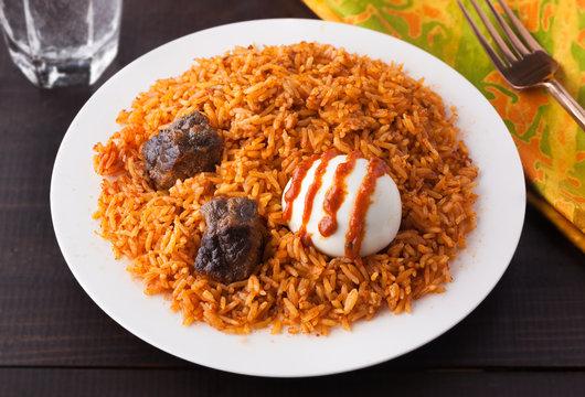 West Africa Rice Jollof