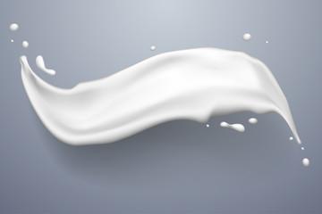 White splash of milk
