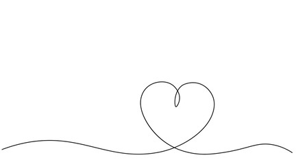 Valentines day heart background vector illustration.