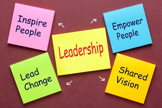 Leadership Tips Concept