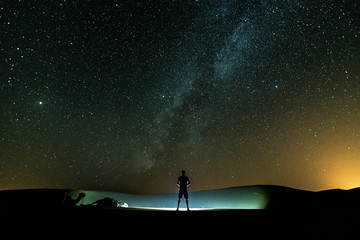 Milkyway desierto