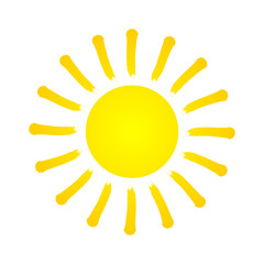Vector Summer Sun