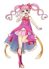 可愛い魔法少女 Cute Magical girl
