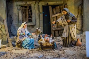 Nacimiento 24 diciembre, navidad, reyes magos, pastores, religion, tradiciones, melchor, gaspar, baltazar, estrella belem