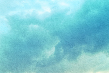 abstract pastel clouds and sky with texture.
