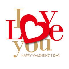 Heart & I love you