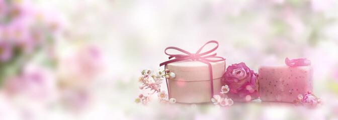 Natural skincare organic soap