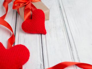 Valentine's day background with copyspace