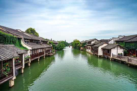 wuzhen town in china