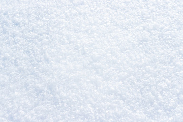 Snow close up for background and screen saver