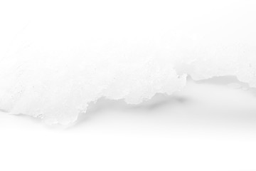 Background of abstract image of ice in the white scene. - image