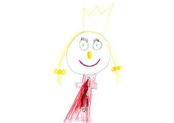 Prinzessin Anna verkündet dem Volk Liebe