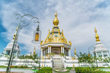 Wat Thung Setthi temple(Wat Thung Mueang) at Khon Kaen is a tourist attraction,Thailand.